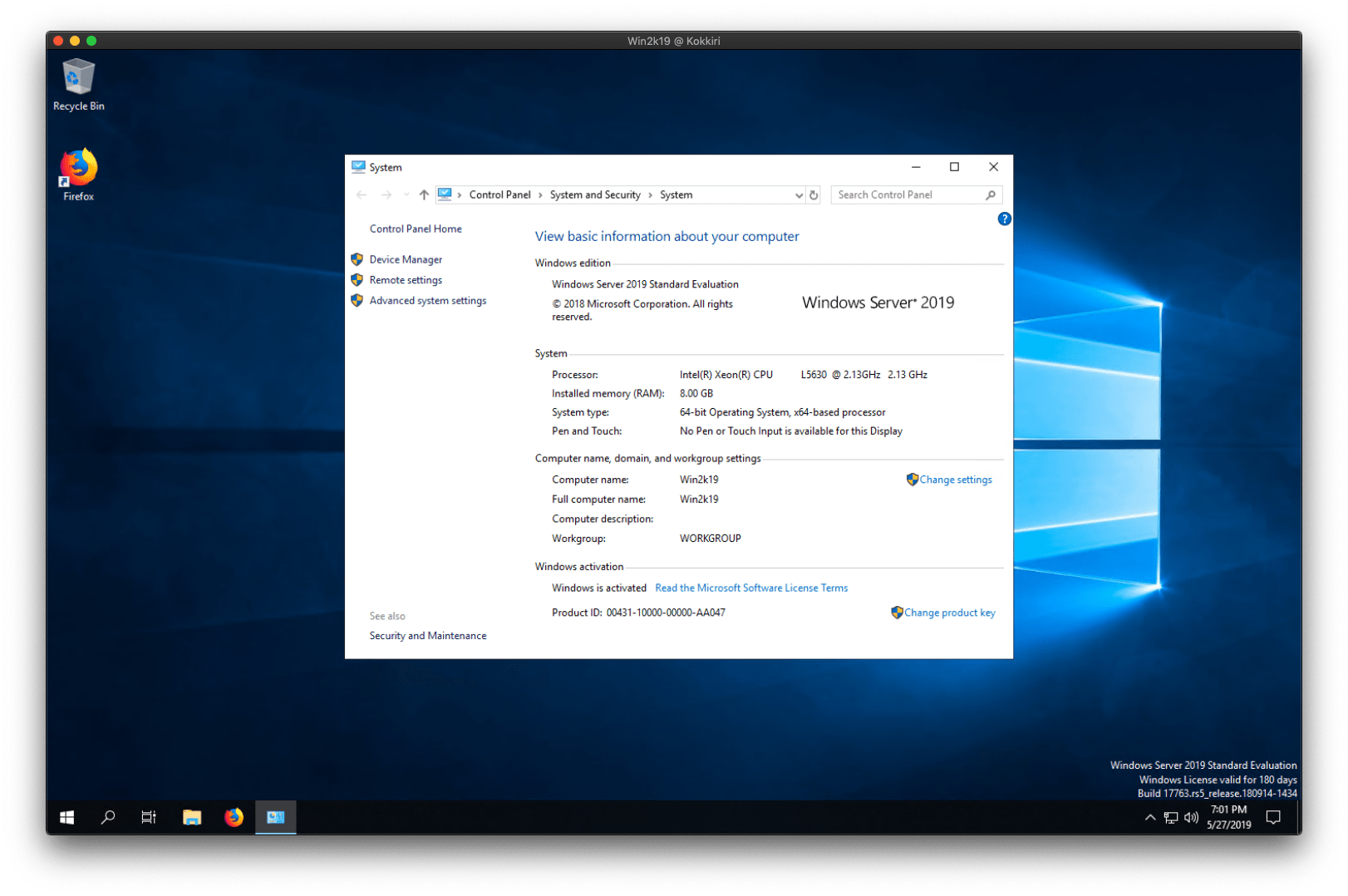 Recommended settings for Windows 10 and 2019 Server on Proxmox