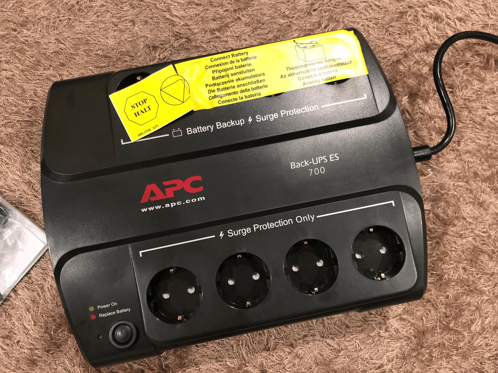 Photo of the APC Back-UPS ES 700