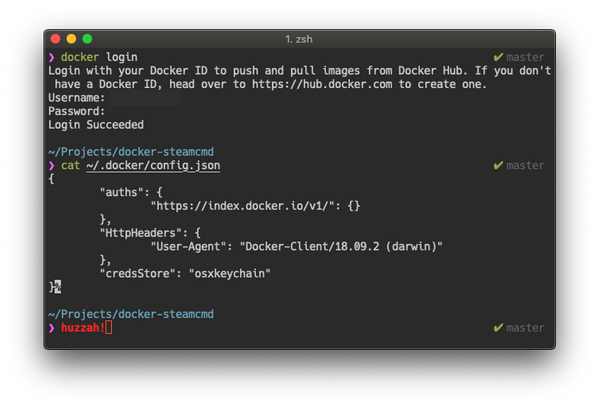 Quick: Docker Credential Helper