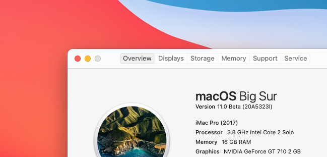 Install macOS 11 Big Sur Beta 3 in a VM (QEMU)