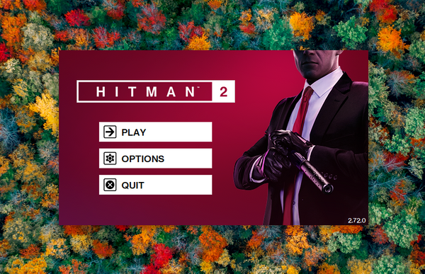 Hitman 2 (2018) on the GPD Win Max (Manjaro)